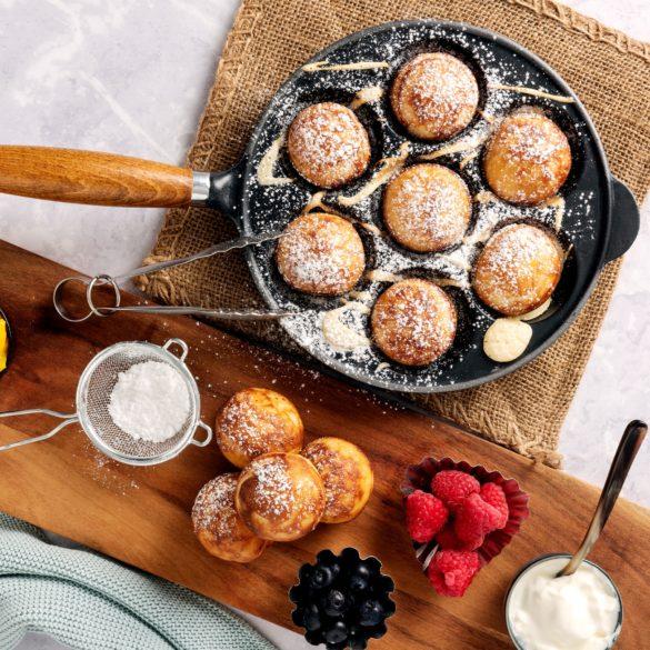 Danish Pancake Balls