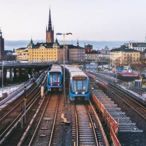 Copenhagen to Stockholm 1