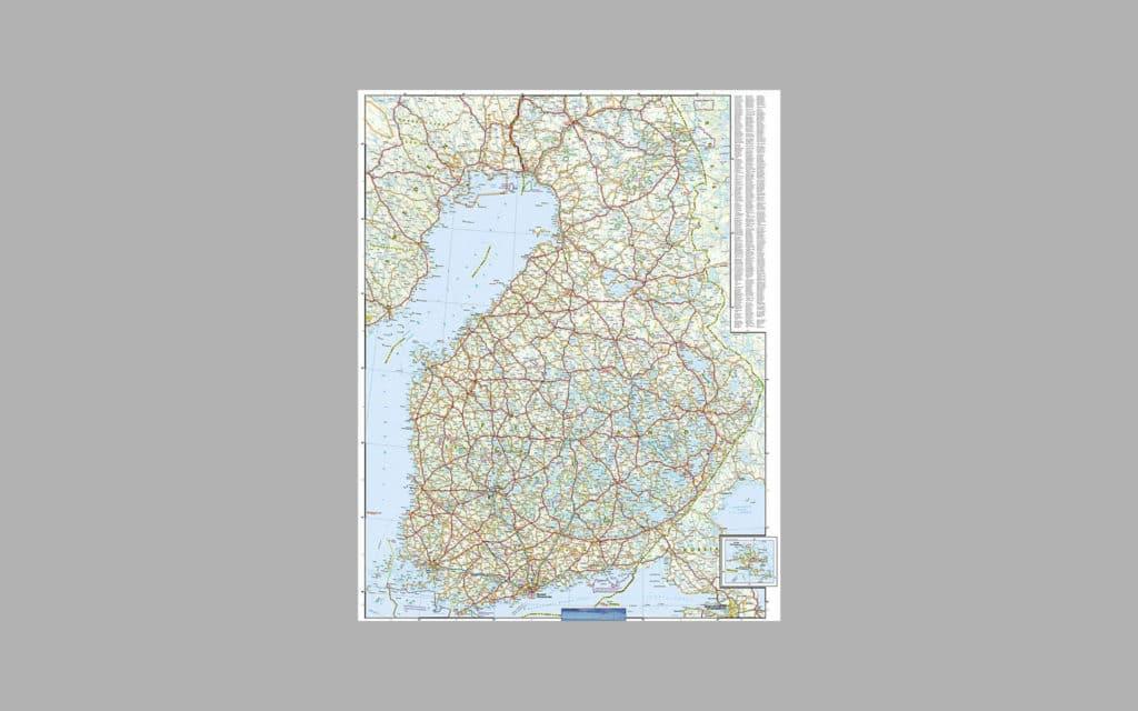 Map of Scandinavia 10