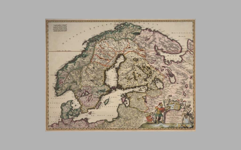 Map of Scandinavia 11