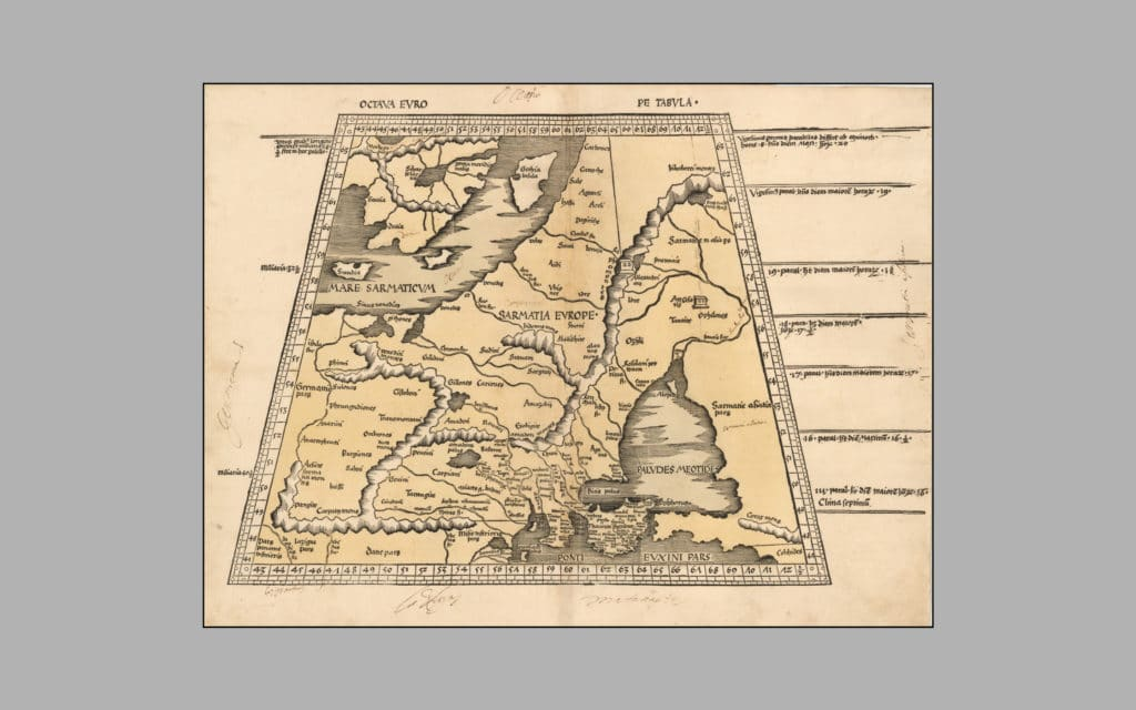 Map of Scandinavia 2