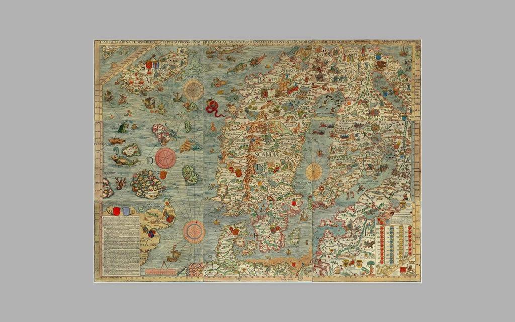 Map of Scandinavia 6