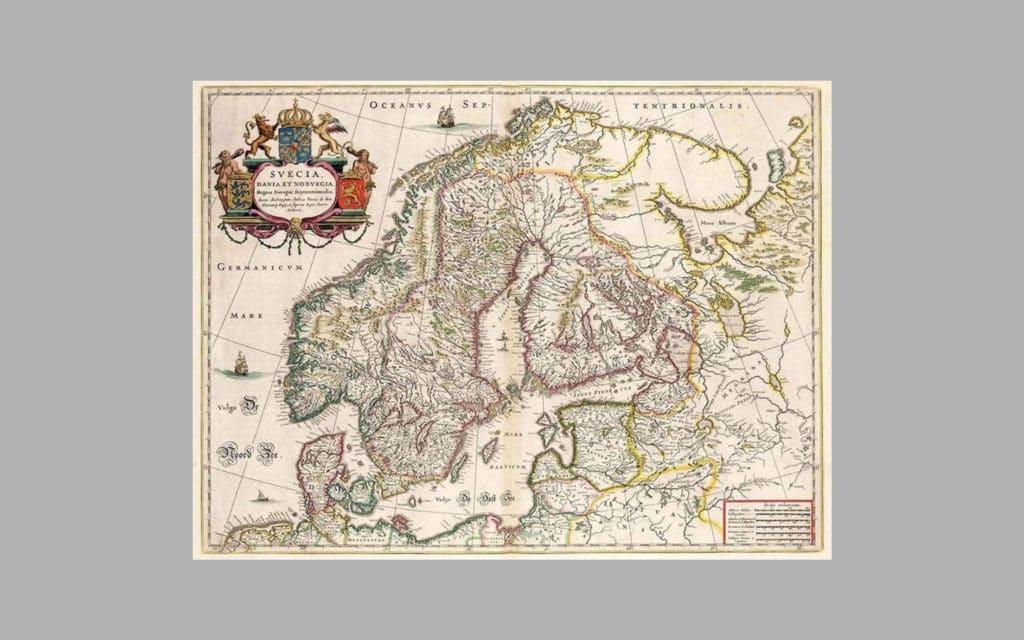 Map of Scandinavia 7