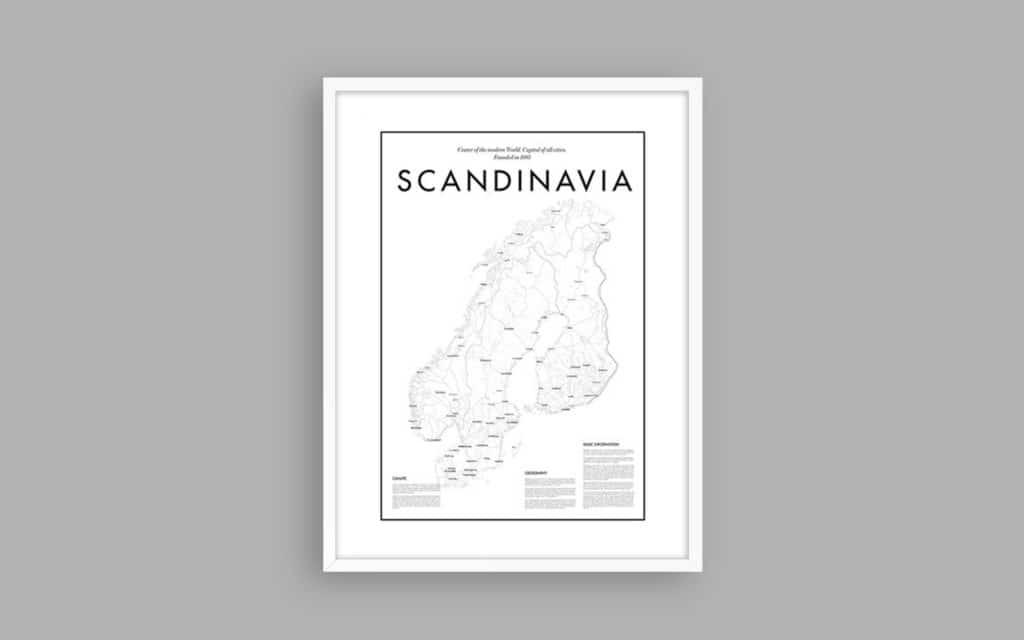 Map of Scandinavia 9