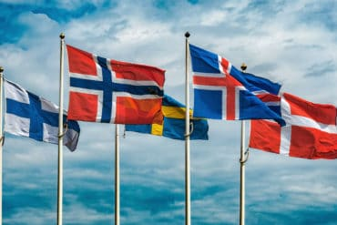 Scandinavian Flags 1