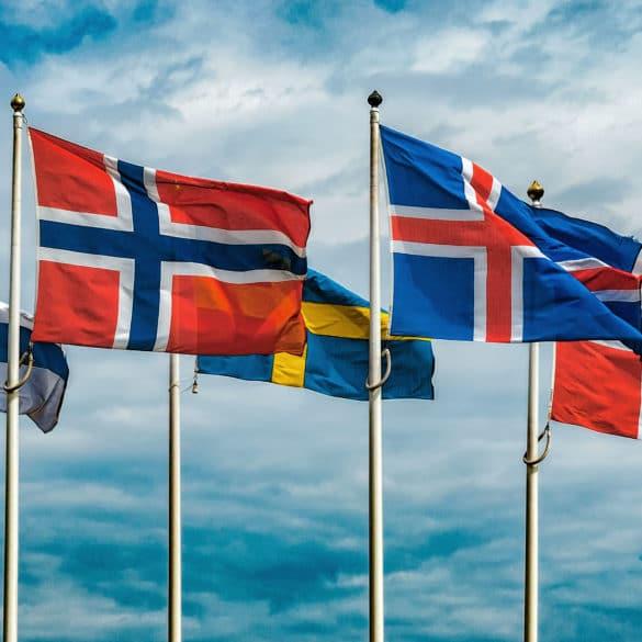 Scandinavian Flags 1