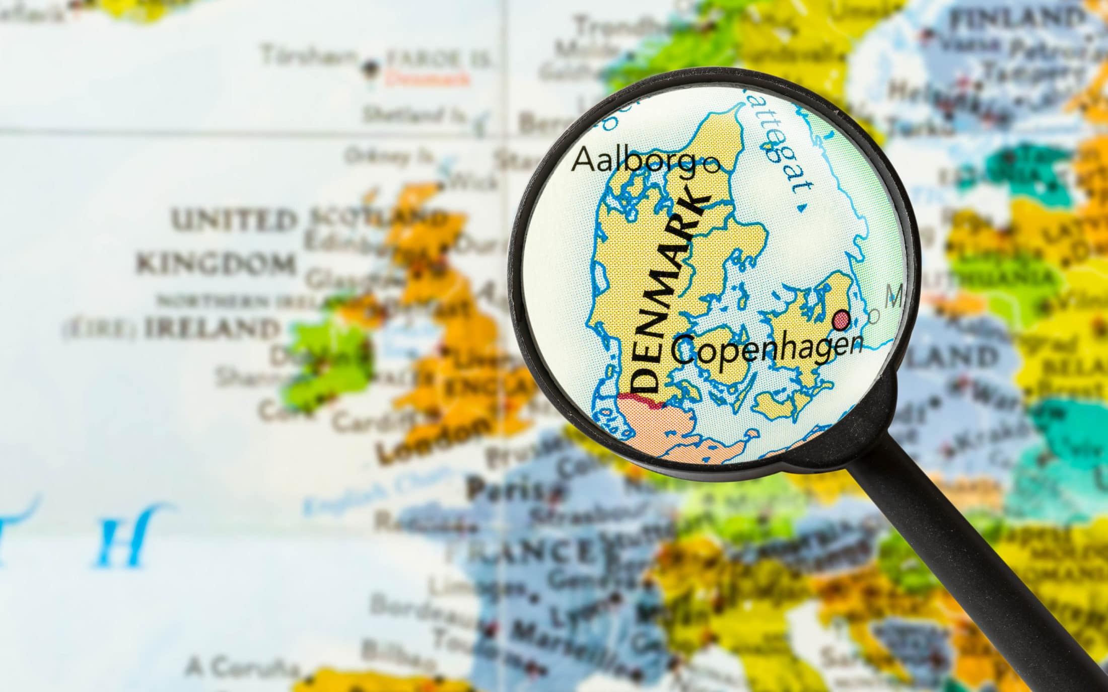 Picture of: Where Is Denmark Finding Denmark On The Map