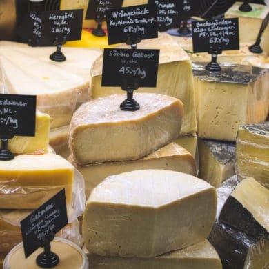 Swedish Cheeses 1
