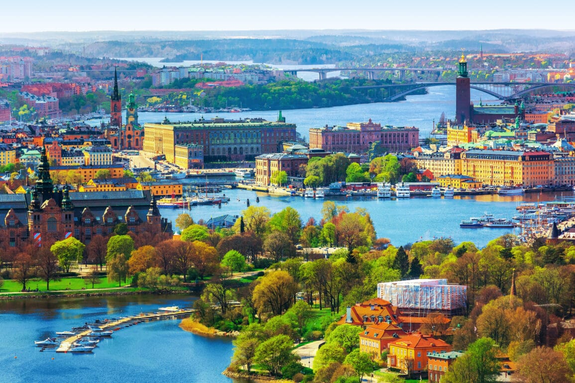 What is the capital of Sweden 1