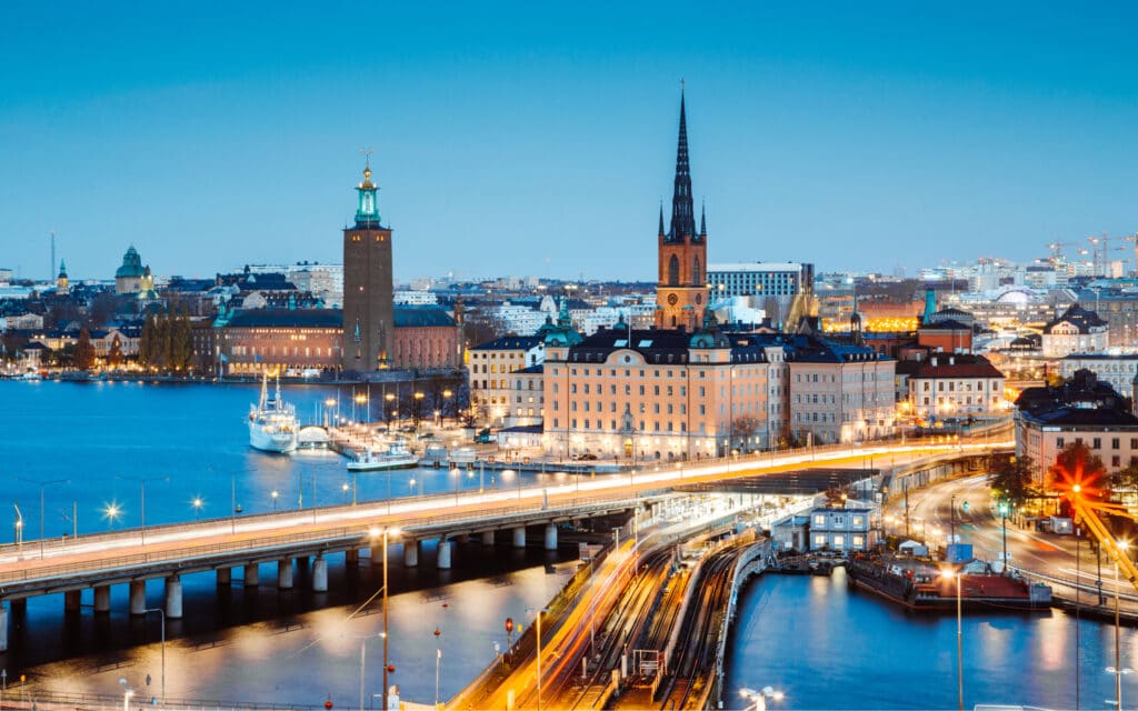 What is the capital of Sweden 4
